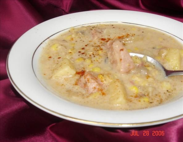 Ham, Corn, and Potato Chowder | Recipe