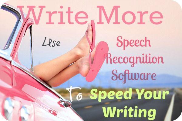 writing to speech software