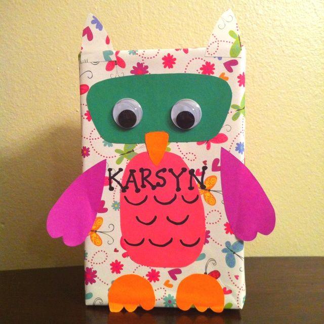 valentine box owl