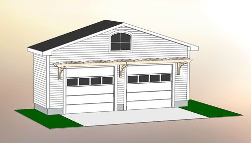 Garage Pergola Home Improvement Pinterest