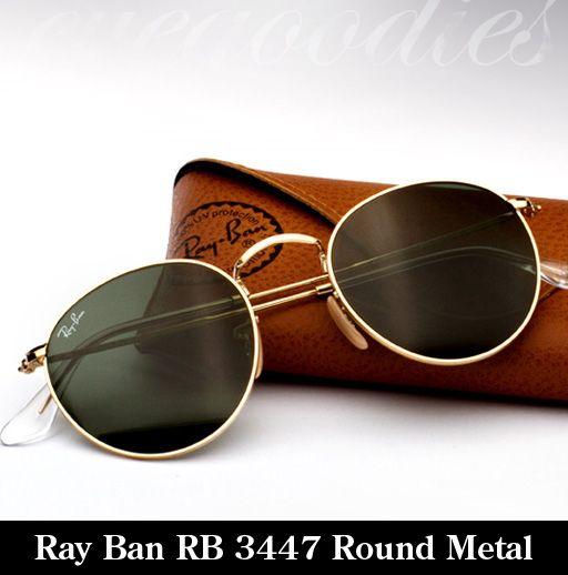 Ray Ban round metal