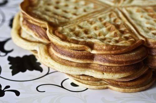 Sour Cream Norwegian Waffles | Breakfast | Pinterest