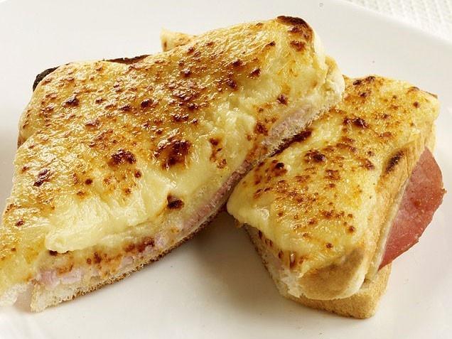 Croque Monsieur Ham And Cheese Sandwich Recipe — Dishmaps