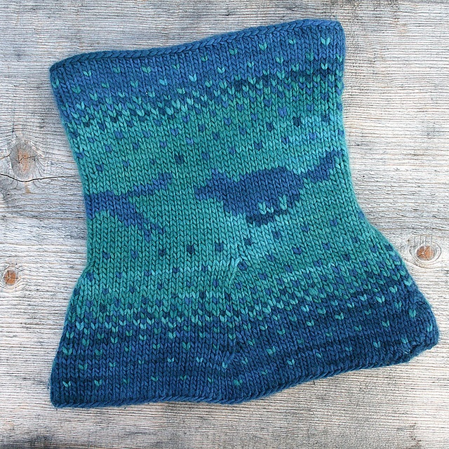 Double Knitting Patterns : Ravelry: Yuma Double Knitting Cowl pattern by Alexandra Wiedmayer