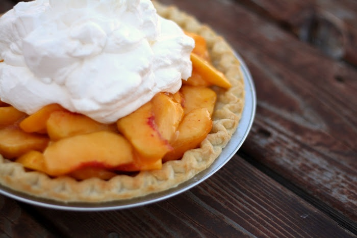 Fresh Peach Pie. Made it this weekend. DELISH