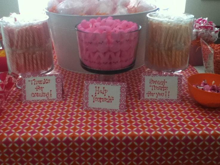 baby shower candy bar my pinterest creations pinterest