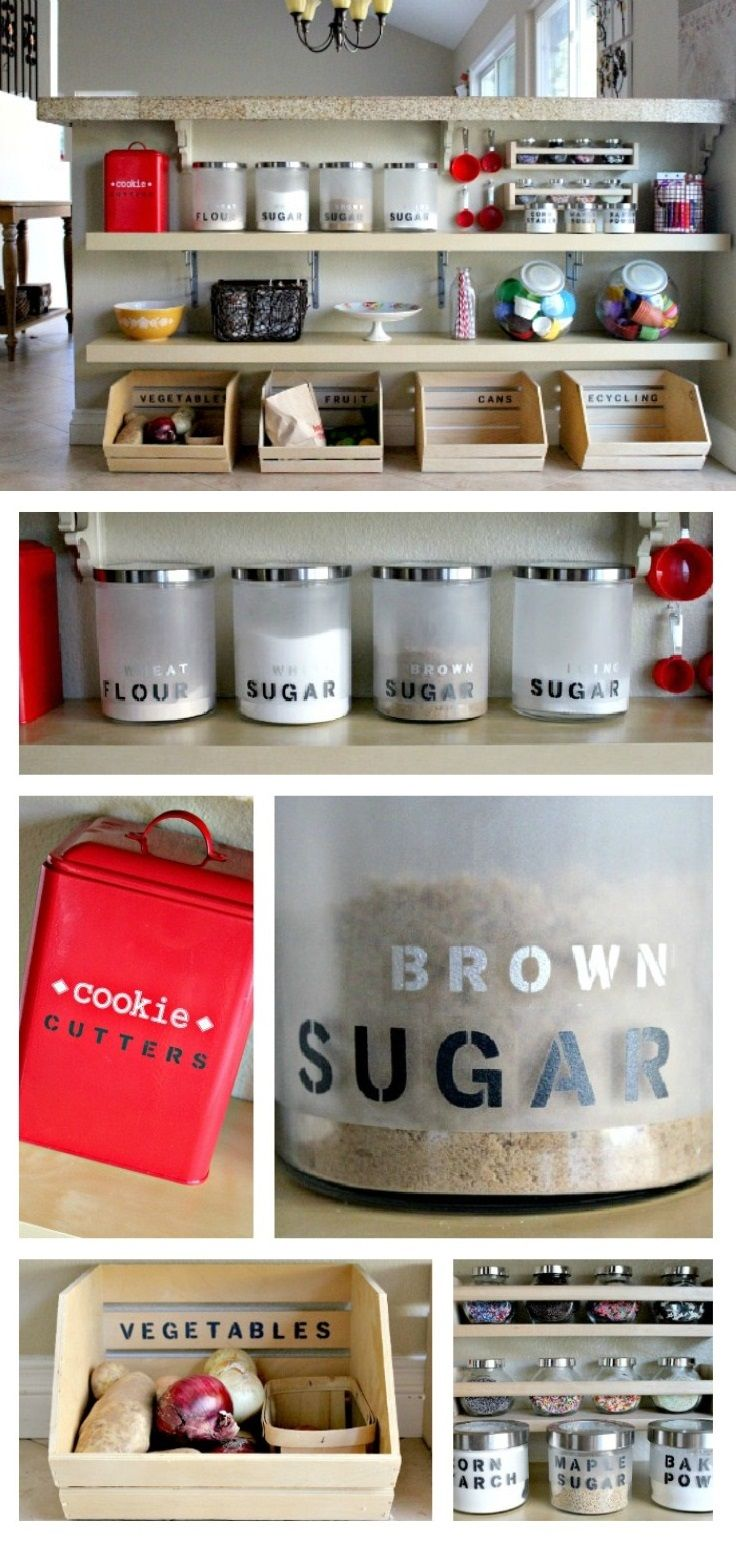 Top 10 awesome diy kitchen organization ideas for Best kitchen organization ideas