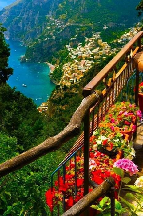 Fascinating View Amalfi Coast Italy Most Beautiful Places On Eart