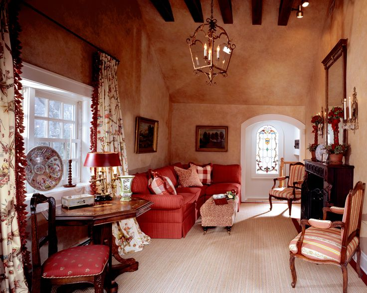 Country French Family Room HOME SWEET HOME Pinterest