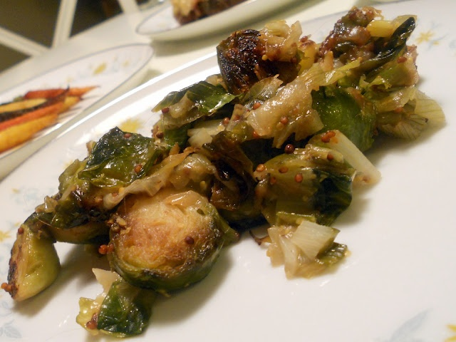 crispy Brussels sprouts + spicy mustard} ♥ Style Philosopher