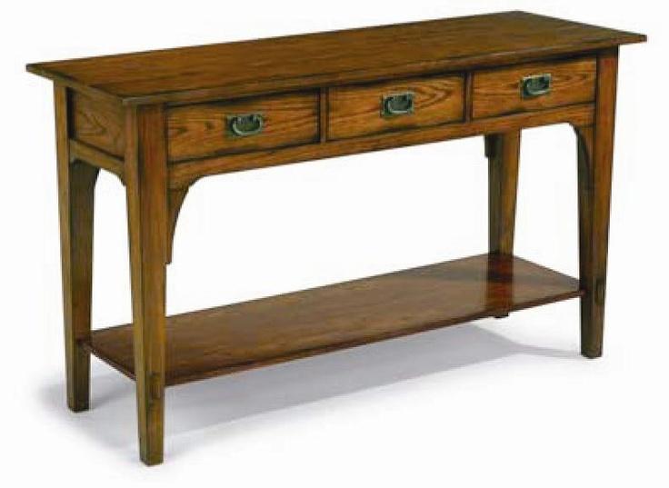 Las Cruces Sofa Table By Flexsteel Flexsteel Pinterest