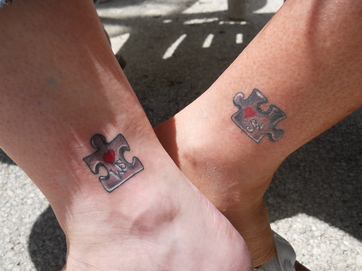 Best sister tattoos that fit together rachael edwards for Tattoos for sisters of 3