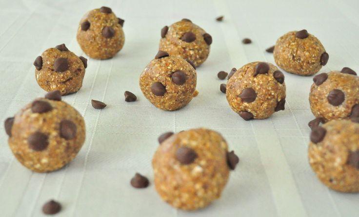 cream chocolate chip cookie dough balls chocolate chip cookie dough ...