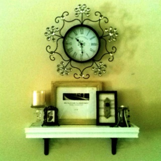 Dining Room on Dining Room Shelf    Completed Crafts