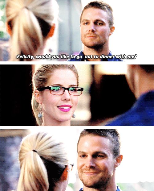 Arrow - Oliver and Felicity #Season3 #Olicity