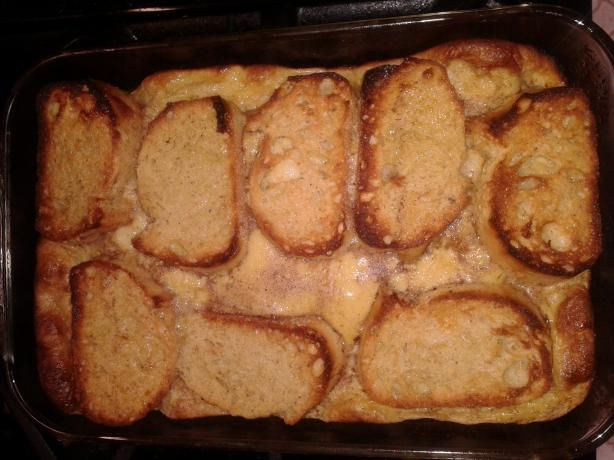 Overnight Eggnog Baked French Toast - This is a favorite at our house!