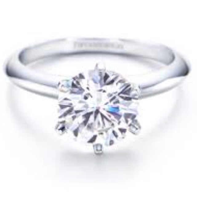 Tiffany wedding ring! I think yes.