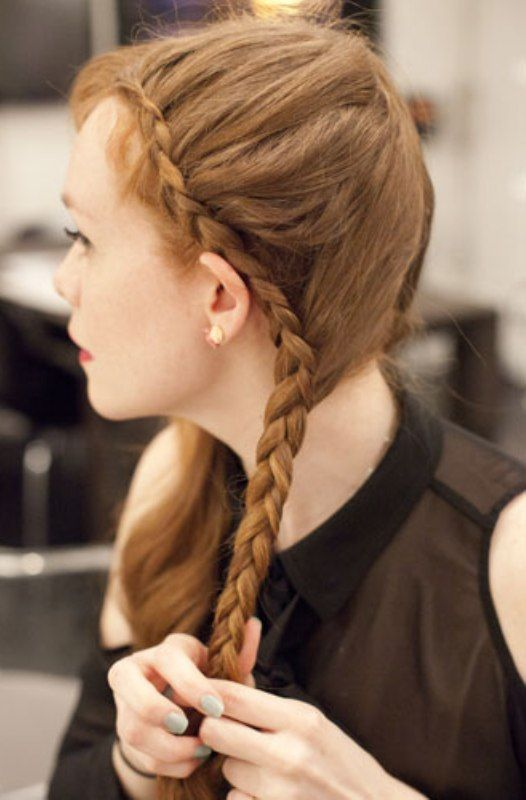 French French Braid Hairstyles For Gymnastics
