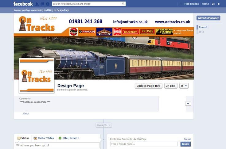 Design for client facebook timelines pinterest