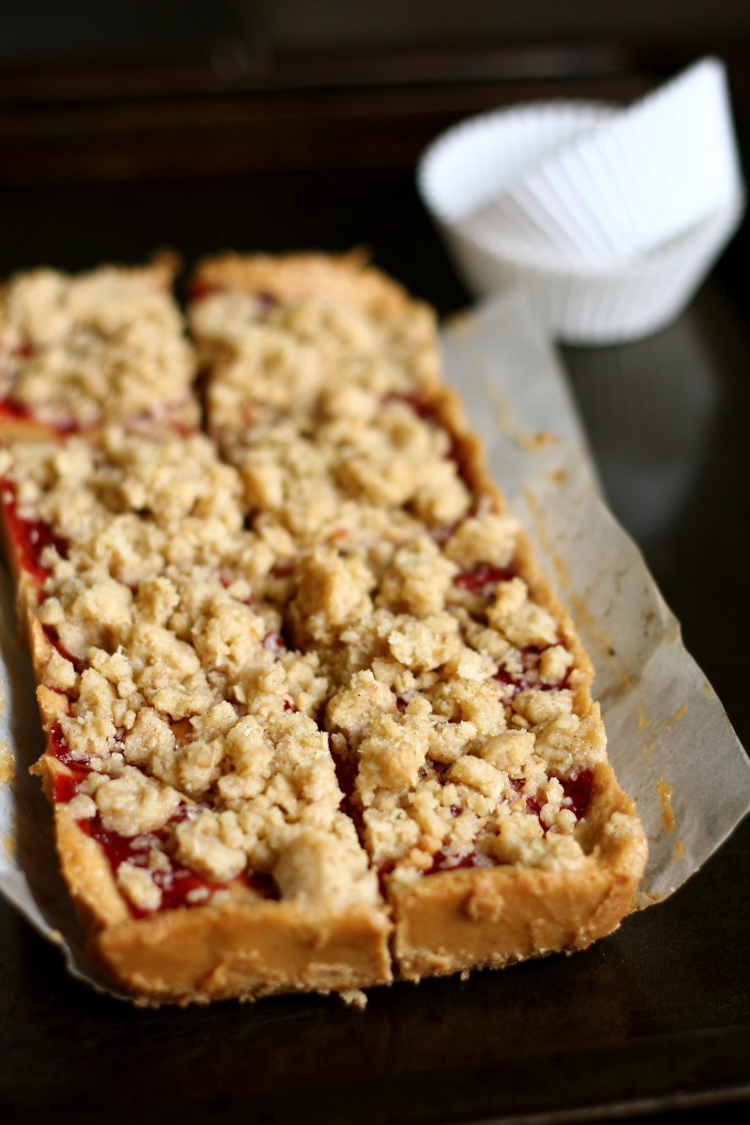 peanut butter and jelly bars. | I Love Peanut Butter | Pinterest