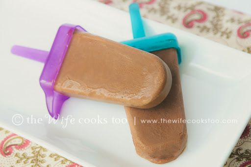 Mexican Chocolate Fudgesicles (Popsicles)
