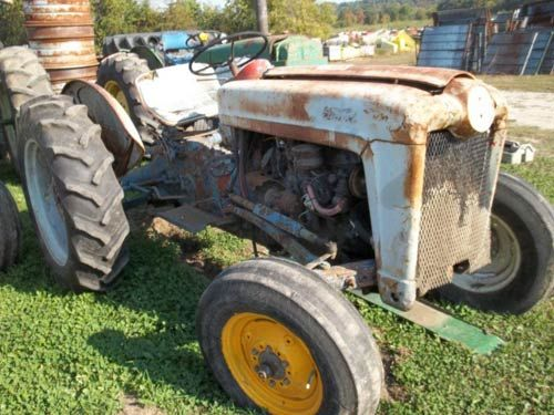 Ford Backhoe Salvage Parts : Ford naa tractor salvage parts tractors pinterest