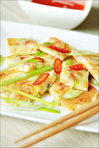 chinese scallion pancakes | Pan-Asian Food | Pinterest