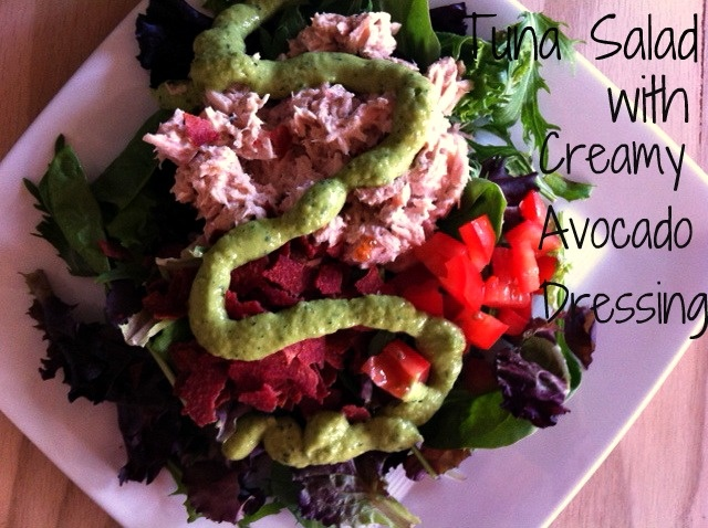 Creamy Avocado Tuna Salad Recipes — Dishmaps