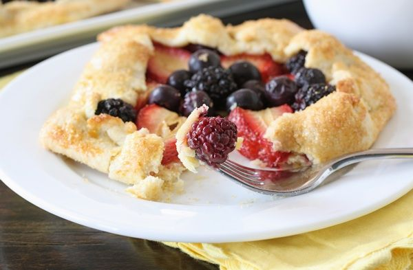 Mixed Berry Mini Galettes | Recipe