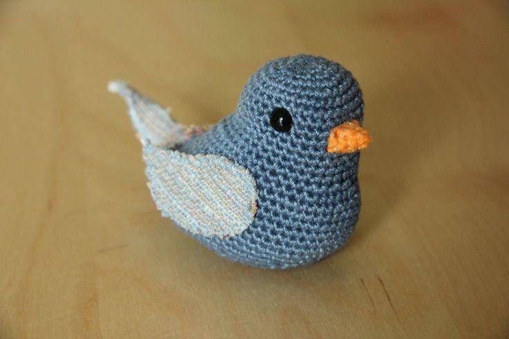 Dove Knitting Pattern : Amigurumi dove. Knitting and crochet Pinterest