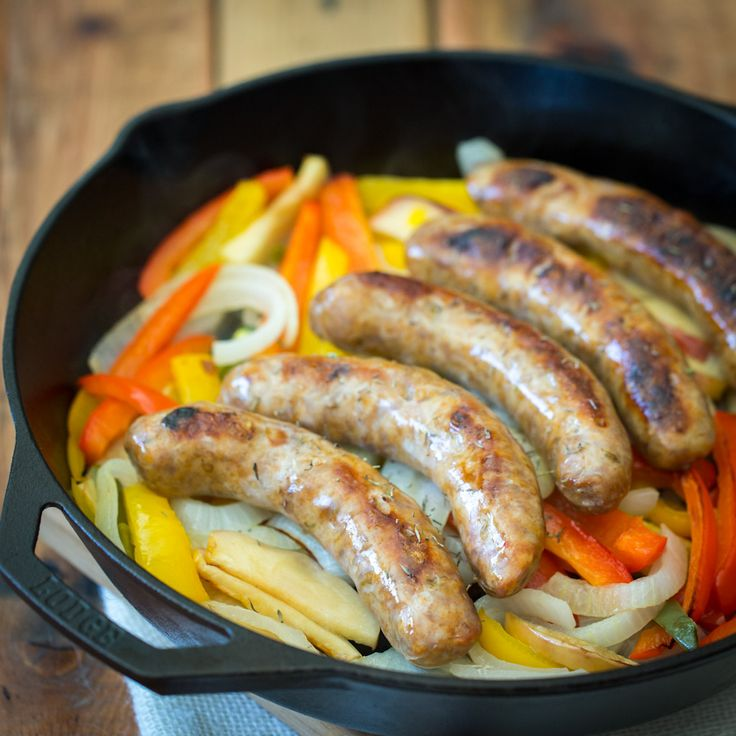 Sausage and Onions | Recipe