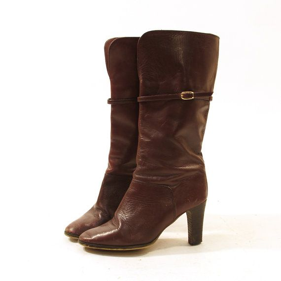 Leather boots spunk