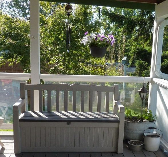 Keter Eden Garden Bench Review And Giveaway