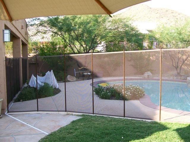 Removable Pool Fence Pool Design Pinterest