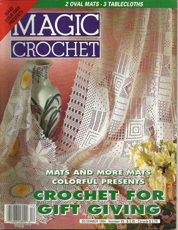 Magic Crochet Magazine : Vintage Magic Crochet magazine Crochet Pinterest