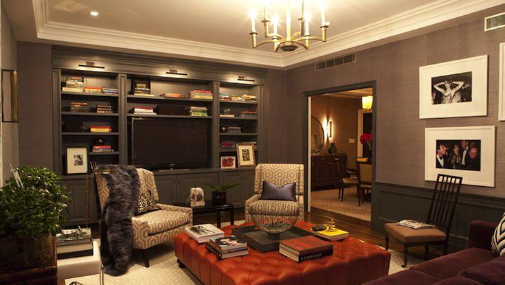 Nanjoo Design Cozy Tv Room Family Room Pinterest