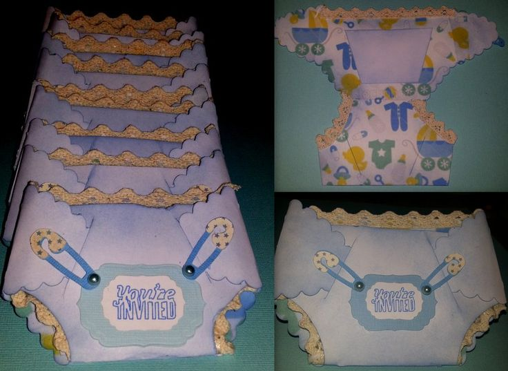 Baby Gift Ideas Using Cricut : Baby shower invitations from the cricut artiste cartridge