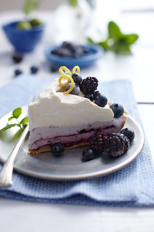 Make our blueberry cheesecake ice cream cover pie this weekend and ...