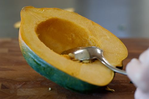 Delicious Baked Acorn Squash made this without brown sugar, everything ...
