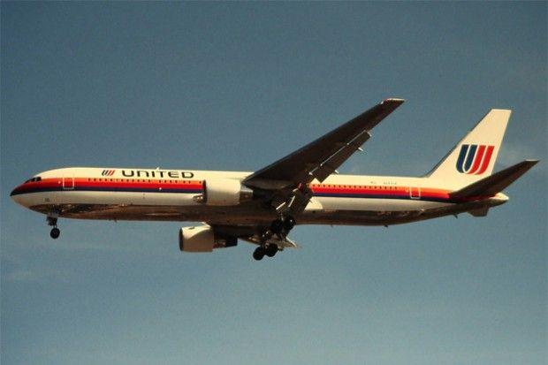 United Airlines Vintage 42