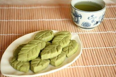 Matcha Green tea shortbread cookies | Recipes to Try | Pinterest