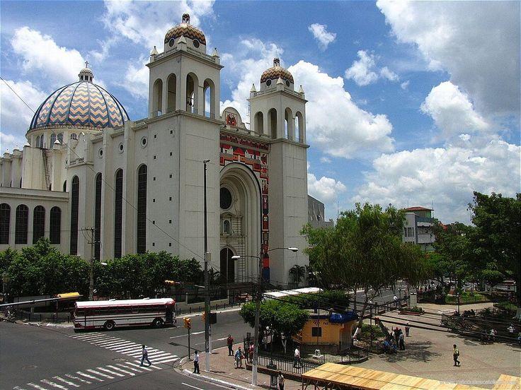 Catedral de San Salvador, El Salvador  My Beautiful Country...Mi her…