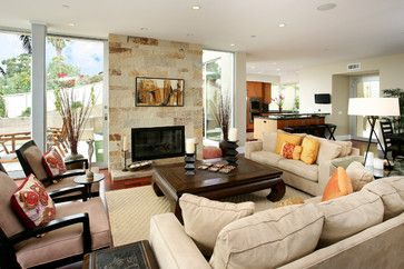 Best + Tropical living rooms ideas