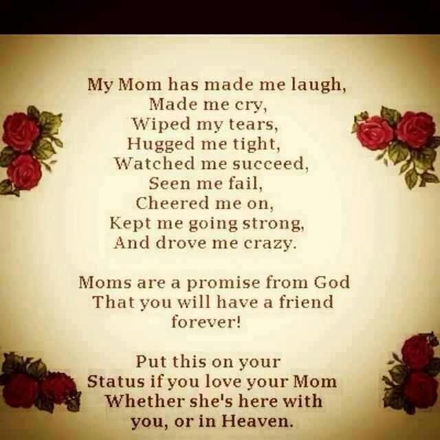 Happy birthday mom i miss you