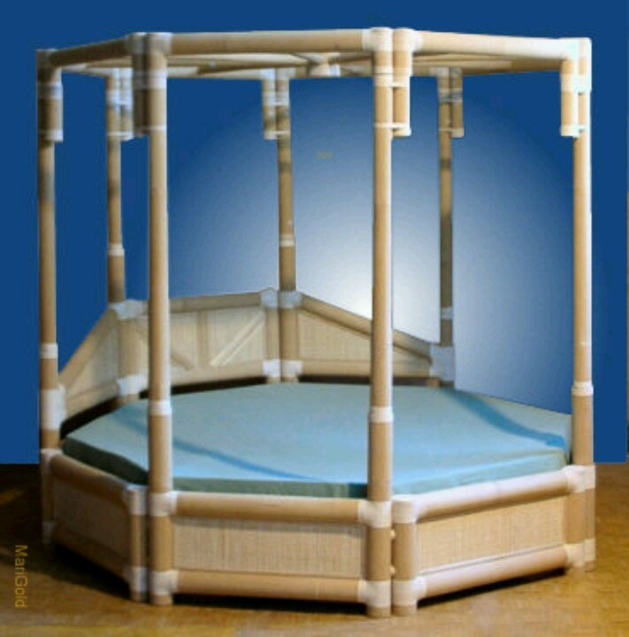 Awesome bamboo canopy bed for the home pinterest - Awesome canopy beds ...