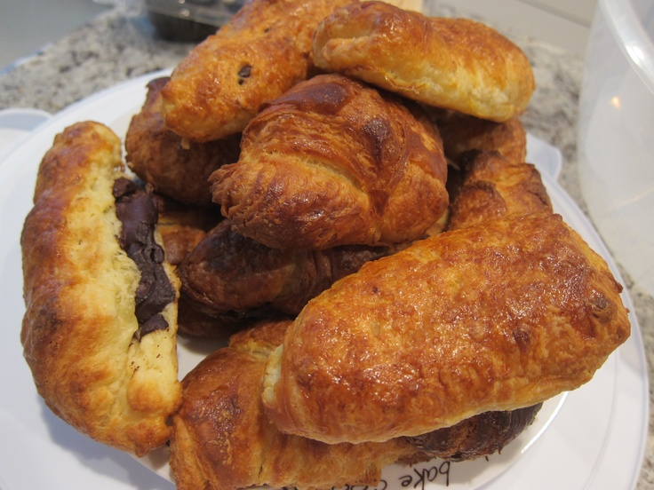 ... had these in Spain have to try making Croissants and Pain au Chocolat