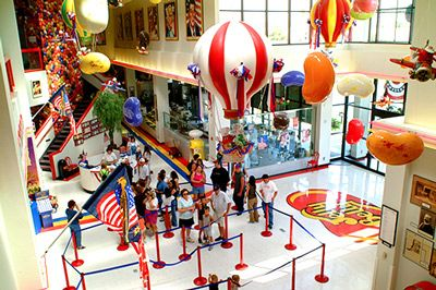 Jelly Belly Factory Tours