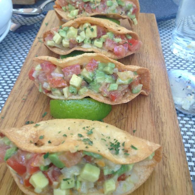 Shark Tacos from Bien Trucha...soooo good!