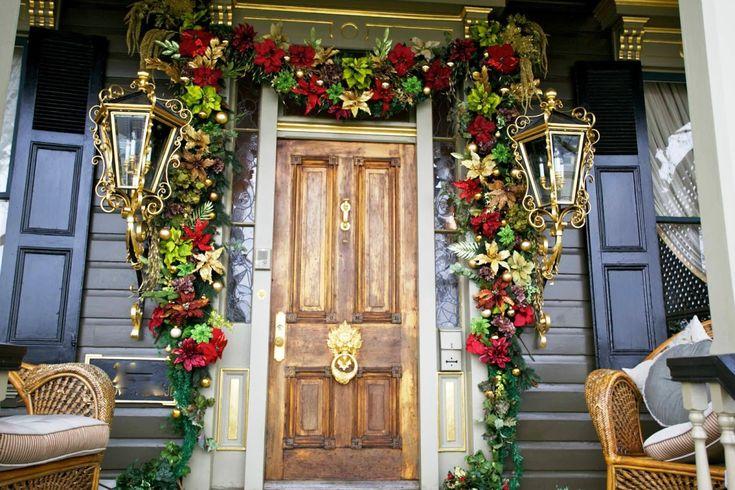 Luxury christmas porch decorating christmas ideas pinterest