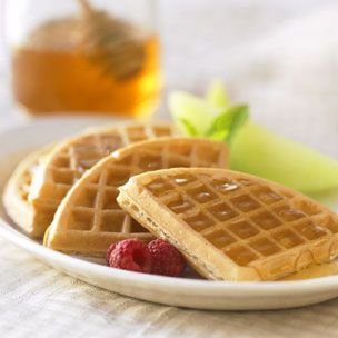 honey yogurt waffles | food | Pinterest